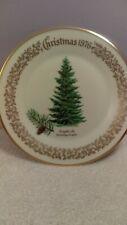 Lenox Christmas plate Douglas Fir Tree design 1976