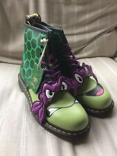 *Brand New* Dr Martens TMNT Donnie Green Men's Boots UK 9