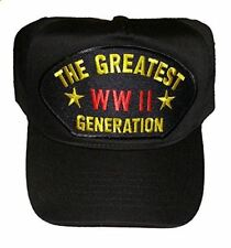WWII WORLD WAR II TWO 2 THE GREATEST GENERATION HAT CAP PACIFIC EUROPE