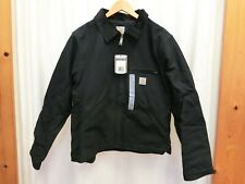 Carhartt 103828 Washed Duck Detroit Jacket Black