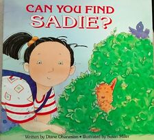 Teacher Big Book CAN YOU FIND SADIE? Kindergarten 1st SHARED READIN Oversized