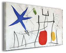 Quadri famosi Joan Mirò vol XIV Stampa su tela arredo moderno arte design