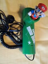 super mario bros telephone telefono vintage old official nintendo master phone