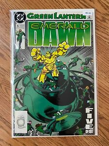 Green Lantern 5 Emerald Dawn - High Grade Comic Book -B61-66