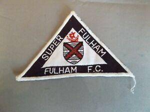 SUPER FULHAM - FULHAM FC TRIANGULAR SEW ON PATCH