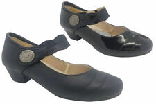 Low (3/4 in. to 1 1/2 in.) Block Synthetic Heels for Women