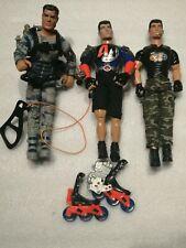 2000s Action Man X 3, Hasbro, Joblot, Bundle, vintage, retro, toys