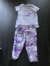 BNWT PETER ALEXANDER Unicorn 3/4 Pants  Ladies PJ Set ,Size M Top, S Pants