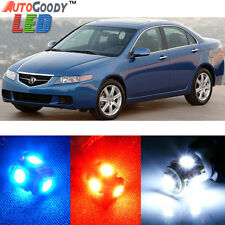 12 x Premium Xenon White LED Lights Interior Package Kit for Acura TSX 2004-2008
