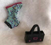 Monster High Doll Dance Class Halloween Doll Outfit Purse Replacement