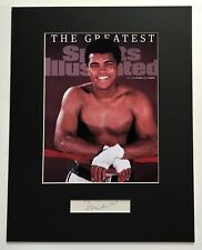 MUHAMMAD ALI  signed autograph COA with proof