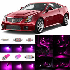 13x Pink/Purple LED Interior Light Package Fit For 2008-2013 Cadillac CTS CTS-V