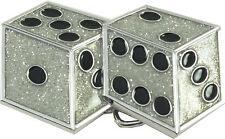 Dice (Silver) Retro Belt Buckle-