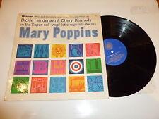 MARY POPPINS - Dickie Henderson & Cheryl Kennedy - 1966 12-track Vinyl LP