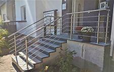 Edelstahl Geländer Treppengeländer Relinggeländer Bausatz V2A 0 bis 6 Füllstäbe