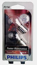 P21w Philips Vision Plus 2er set luz de freno rápida reacción 12498vpb2
