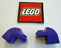 20 Pcs LEGO 6091 White 1 x 2 x 1.33 BRICK w// Curved Top Arch