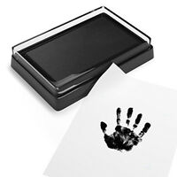 Baby Care Non-Toxic Baby Handprint Footprint Imprint Kit Fingerprint Clay Toys-T