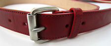 """Paul Smith RED BELT Leather Signature Engraved Belt 28"""" RRP £130"""