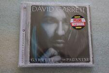 David Garrett - Garrett vs Paganini CD PL NEW SEALED POLISH RELEASE