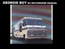 GEORGIE BOY 1980-1990 MOTORHOME MANUALs 410 pg for 1988 1989 RV Service & Repair