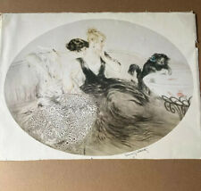 Louis Icart Color Lithograph Signed