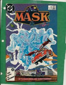 MASK - #7 - DC Comics - 1987