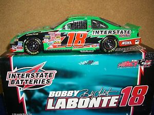 Action 2002 Pontiac Grand Prix #18 Bobby Labonte Interstate 1:24 Diecast Car