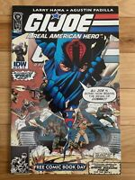 GI Joe A Real American Hero FCBD #155 ½ - 1ST ISSUE OF TITLE RELAUNCH!!! KEY!!