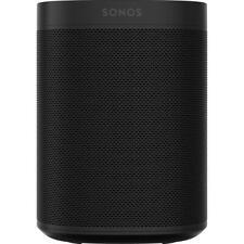 SONOS One (Gen 2) Black Smart Speaker with Google Assistant