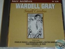 CD JAZZ ARCHIVES 170 WARDELL GRAY SMALL COMBOS