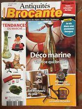 Antiquités brocante n°238 07/2018 déco marine, montre Lip, outils de jardin, Etc