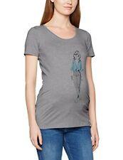 T-shirt, maglie e camicie grigi per la maternità taglia 44
