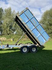 More details for tractor tipping trailer 8/10 ton