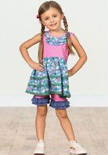 Matilda Jane Size 4 Love Bird Tunic And Shorties