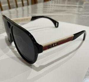 NEW Gucci Seasonal Icon GG 0463S A Sunglasses 002 Black 59MM 100% AUTHENTIC