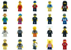 MINIFIGURES DRIVERS LEGO YOU PICK FROM LIST AIRBORNE RACING CITY TOWN