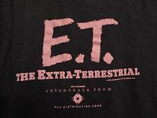 Rare Promo 1982 E.T. The Extra-Terrestrial Soundtrack Welcome Him Shirt Large
