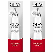 Olay Regenerist Advanced Anti-Ageing Eye Lifting Serum, 2 Pack, 15ml