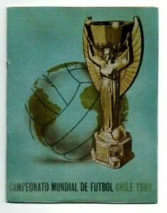 Original + Official Complete PRG  FIFA World Cup CHILE 1962  !!!!  A TRUE RARITY