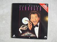 Scrooged Movie Laserdisc Bill Murray