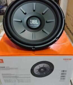 "JBL STAGE 1210 12"" 12-INCH SINGLE 4-OHMS CAR AUDIO SUBWOOFER 1000W MAX"