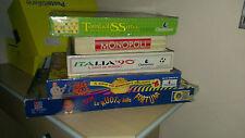 Stock giochi da tavola in scatola