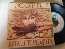 "MOONSHINE - JUST A LITTLE MORE LINE 7"" SINGLE SPAIN PROM0 ERIKA 1972"