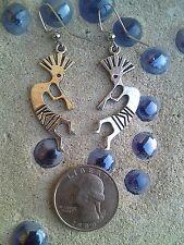 Silver Plated Kokopelli Earrings!