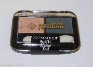 JORDANA Eye Shadow Duo  MELON/TEAL Factory Seal