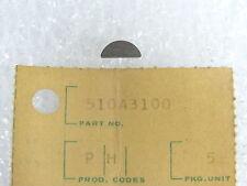 Kawasaki NOS NEW  510A3100 Woodruff Key A1 A7 F5 F8 F9 G3 G4 G5 KD KE 1966-2014