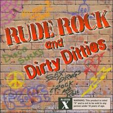 Rude Rock & Dirty Ditties [PA] by Various Artists (CD, Aug-1999, Disgusto...