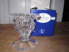 "Royal Doulton Finest Crystal ""Concord"" Triple Use Candleholder - Nib"