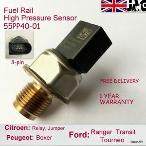 Ford Citroen Relay Jumper Peugeot Boxer Fuel Rail High Pressure Sensor 55PP40-01